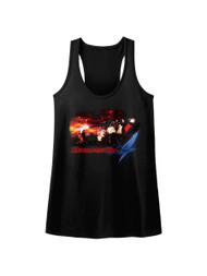 Devil May Cry Video Game Action Adventure Combat Face Demons Womens Tank Top Tee