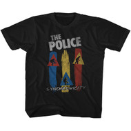 The Police British Rock Band Synchronicity Vintage Juniors T-Shirt Tee