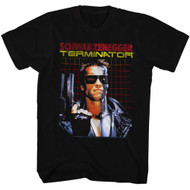 Terminator 1980s SciFi Action Movie Cyborg Assassin Schwarzenegger Adult T-Shirt