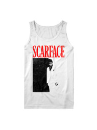 Scarface 1980's Gang Crime Movie Summer Tour '93 Adult Tank Top Tee