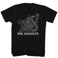 Hai Karate Aftershave Fragrance HK Dragon Sketch Adult T-Shirt Tee