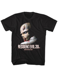 Resident Evil Horror Science Fiction Video Game 20th Anniversary Adult T-Shirt