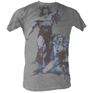 Conan Movie Conan Vintage Adult Mens T-Shirt Tee