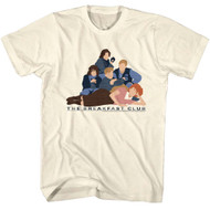 Breakfast Club 1985 Comedy Drama Adult T-Shirt 80s Movie Vector