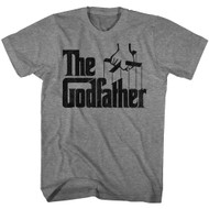 Godfather 1970s Mob Crime Drama Movie Puppet Hand Adult T-Shirt Tee