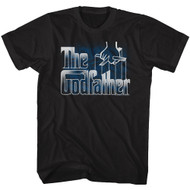 Godfather 1970s Mob Crime Drama Movie Reflection Puppet Hand Adult T-Shirt Tee