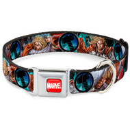 Dog Collar AVE - Astonishing Thor #3 Poses/Hammer - Large