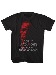 Godfather 1970's Mafia Mobster Movie I Take Care Of My Family Adult T-Shirt Tee