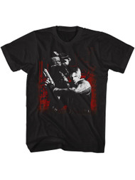 Resident Evil Horror Science Fiction Video Game Sawit Black Adult T-Shirt Tee