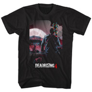 Dead Rising 4 Survival Horror Video Game Zombie Attack Batmas Adult T-Shirt Tee