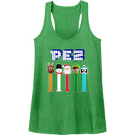 Pez Christmas Sugar Candy Dispenser American Classics Womens Tank Top