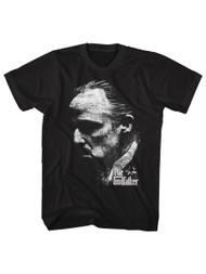 Godfather 1970's Mafia Mobster Movie City Profile Adult T-Shirt Tee