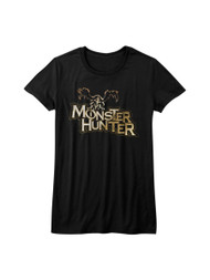 Monster Hunter Capcom Mh Logo Action Role Playing Video Game Junior T-Shirt