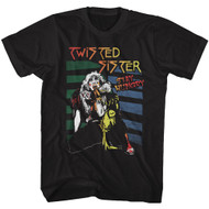Twisted Sister American Heavy Metal Band Stay Hungry Adult T-Shirt Tee