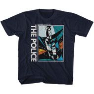 The Police British Rock Band Message In A Bottle Juniors T-Shirt Tee