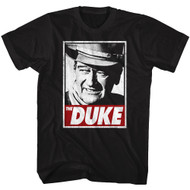 John Wayne American Legend Hollywood Icon Actor The Duke Adult T-Shirt Tee