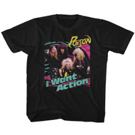 Poison American Rock Band Rock Band Bright I Want Action Youth T-Shirt Tee