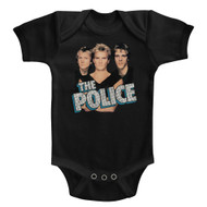 The Police Rock Band Boys'N'Blue Group Shot Infant Baby Creeper Snapsuit Romper