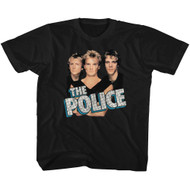 The Police Rock Band Boys'N'Blue Group Shot Toddler T-Shirt Tee
