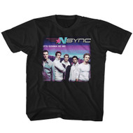 NSYNC 1995 Boy Band Group Photo It's Gonna Be Me Youth T-Shirt Tee