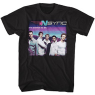 NSYNC 1995 Boy Band Group Photo It's Gonna Be Me Adult T-Shirt Tee