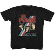 The Police Rock Band Ghost In The Machine Toddler T-Shirt Tee
