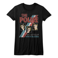 The Police Rock Band Ghost In The Machine Juniors T-Shirt Tee