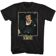 Scarface 1980's Gang Crime Classic Movie Bad Guy Vintage Adult T-Shirt Tee