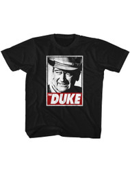 John Wayne American Legend Hollywood Icon Actor The Duke Youth T-Shirt Tee