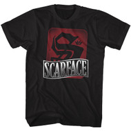 Scarface 1980's Gang Crime Movie S is for Scarface Vintage Adult T-Shirt Tee