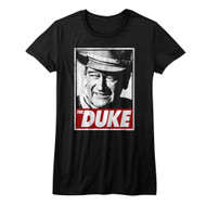 John Wayne American Legend Hollywood Icon Actor The Duke Juniors T-Shirt Tee