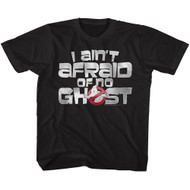 The Real Ghostbusters Animated TV Series Ain't Afraid Youth T-Shirt Tee