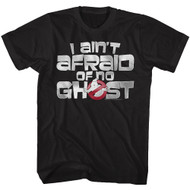 The Real Ghostbusters Animated TV Series Ain't Afraid Adult T-Shirt Tee