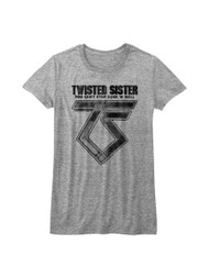 Twisted Sister Heavy Metal Band Can't Stop Rock'N'Roll Juniors T-Shirt Tee