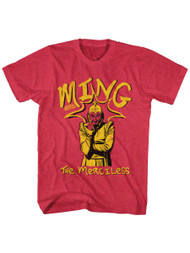 Flash Gordon 1930's Comic Strip�Ming The Merciless Adult T-Shirt Tee