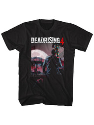 Dead Rising 4 Survival Horror Video Game Zombie Attack Batmas3 Adult T-Shirt Tee