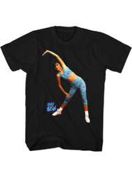 Saved By the Bell 1990's Bayside Kelly Aerobics Teen Comedy Sitcom Adult T-Shirt