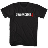 Dead Rising 4 Logo Survival Horror Video Game Zombie Attack Adult T-Shirt Tee