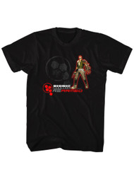 Bionic Commando Arcade Video Game Mechanical Robot Rearmed Adult T-Shirt Tee