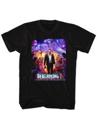 Dead Rising 2 Survival Horror Video Game Zombie Film Purple Action Adult T-Shirt