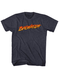 Baywatch 90's Drama Beach Patrol Lifeguard Baewatch Logo Adult T-Shirt Tee