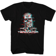 Terminator 1980's SciFi Action Movie Cyborg Assassin Arnold Blurry Adult T-Shirt
