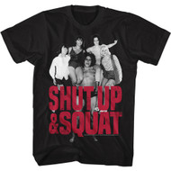 Andre The Giant Eighth Wonder Of The World Adult T-Shirt Tee 80s Shut Up Squat