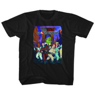 The Real Ghostbusters Animated TV Series Poster Youth Big Boys T-Shirt Tee