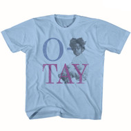 Buckwheat Mo Otay Light Blue Youth T-Shirt Tee