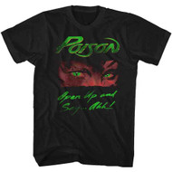 Poison Open Up Black Adult T-Shirt Tee