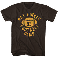 Ace Ventura Finkle Football Dark Chocolate Adult T-Shirt Tee