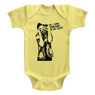 Ace Ventura Something To Eat Banana Infant Baby Creeper Snapsuit Romper