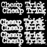 Cheap Trick x 3Rock Band Name Repeat Black Toddler Little Boys T-Shirt Tee