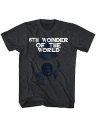 Andre The Giant Eighth Wonder Of The World Adult Mens T-Shirt Tee